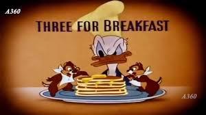 donald duck breakfast donald duck cartoon