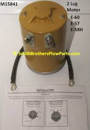 meyer snow plow replacement lights aftermarket motor for meyer e 60 and e 57 e 58h pumps and e58h e