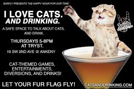 Portland Food Map by I Love Cats And Drinking At Tryst In Portland Or On Thu Aug