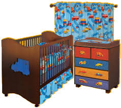 Construction Crib Bedding Set Construction Bedrooms Decorating Construction Trucks Theme