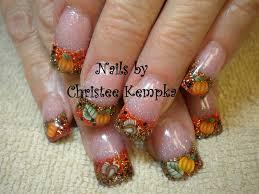 thanksgiving nail gallery