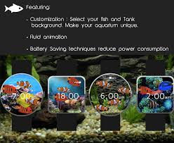 aquarium watch face android apps on google play