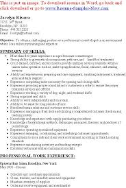 Barber Resume Example by Cosmetology Resume Template Pinterest The World39s Catalog Of