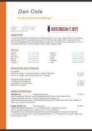 Resume Good Format Text Resume Format Plain Text Resume Examples Resume Plain Text