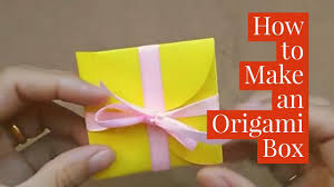 Easy Life Hacks Life Hacks Origami Easy Diy Gift Box How To Make An Origami How