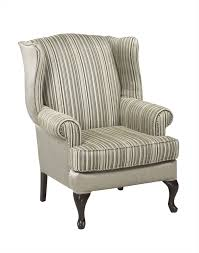 Fabric Living Room Chairs Cool Modern Living Room Chair Design With A Grey Stripes Fabric