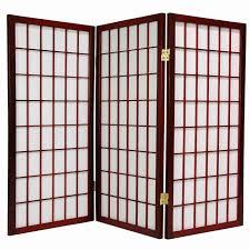 japanese teak mid century room divider screen surripui net