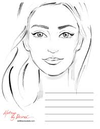 best photos of makeup face template mac makeup face charts 386 x 500