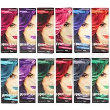 hair colours paintglow semi permanent hair dye bright colours 1 2 4 pack