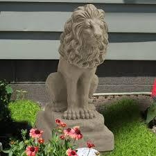 lion statues for sale large lion statues wayfair