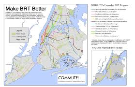 Ny Mta Map Proposing A Better Bus Rapid Transit System Second Ave Sagas
