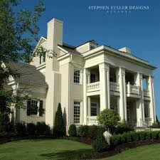 boral trim for a traditional exterior with a columns and front