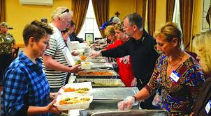 grace united methodist church abuzz on thanksgiving day
