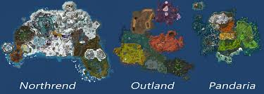 Map Size Comparison And The Winner Is On The Size Of Pandaria Page 5
