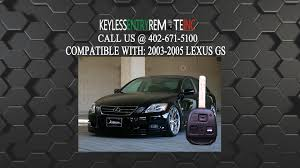 2010 lexus key fob cover how to replace lexus gs key fob battery 2003 2004 2005 youtube