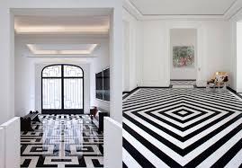 unique design black and white floor tiles kitchen dma homes 52222