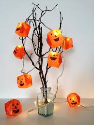 Orange Halloween Lights by Diy Steps To Prepare Origami Halloween Lights Homecrux