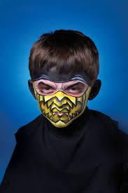 scary ninja facepaint google search costumes pinterest