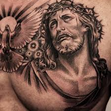 amazing artist lil b hernandez jesus chest tattoos