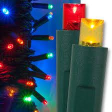 wide angle 5mm led lights 50 multicolor led tree lights