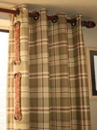 Drapes With Grommets 14 Best Grommet Panels With Fun Tie Backs Images On Pinterest