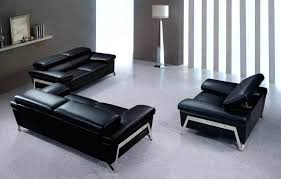 Contemporary Black Leather Sofa Modern Leather Furniture Awesome Contemporary Leather Sofa Sets