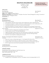 resume experience chronological order or relevance theory bloomberg financial resume sle http resumesdesign com