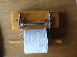 vintage horse bit toilet roll holder 28 00 western home ideas
