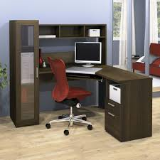office desk l shaped with hutch corner l shaped office desk with hutch black and cherry massive in