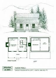 cottage homes floor plans floor plan garden cottage f one level with loft cabin designs