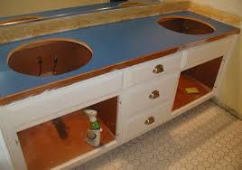 How To Change Bathroom Vanity by How To Install A Bathroom Vanity Top Bathroom Decoration