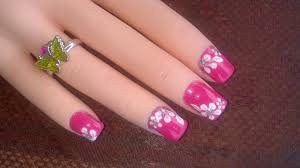 best and easy cute flower designs for nails nail arts and nail