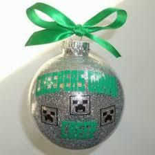 minecraft creeper ornament 10 00 decalmania rogers
