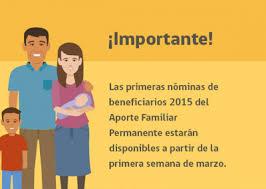 bono marzo chile 2016 bono marzo darán a conocer las primeras nóminas del aporte familiar