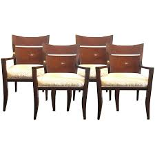 walnut dining room chairs viyet designer furniture seating baker piedmont host walnut