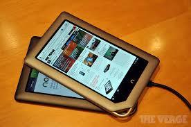 Nook Tablet Barnes And Noble Nook Tablet Barnes U0026 Noble The Verge