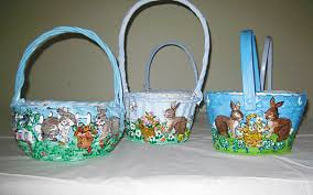 painted easter baskets new canaan sewing holds boutique next week