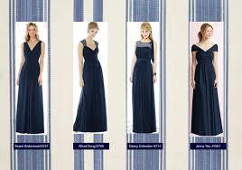 midnight blue bridesmaid dresses good dresses