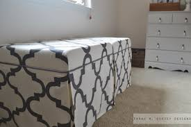 Ikea Lack Hacks Sarah M Dorsey Designs Lack Tables To Upholstered Ottomans