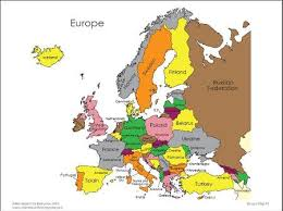 updated map of europe updated map of europe major tourist attractions maps