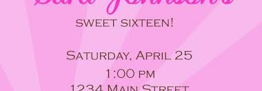 sweet 16 party invitations black and white birthday party