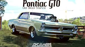 Pontiac Muscle Cars - forza horizon 3 old skool stance 65 pontiac gto dawn of the