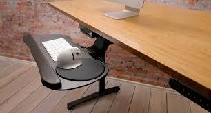 Mouse Platform Under Desk Large Keyboard Tray By Uplift Desk Shop Keyboard Platforms