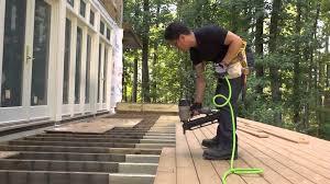 average cost of installing hardwood floors deck building cost