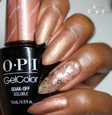 opi gelcolor worth a pretty penne simply into my nails