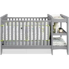 Black Crib With Changing Table Nursery Decors Furnitures Black Baby Cribs With Changing Table