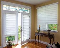 Window Treatment Patio Door by Three Things To Consider When Choosing French Door Shades Or