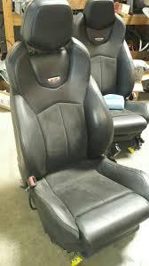 2009 cadillac cts v recaro seats black complete set