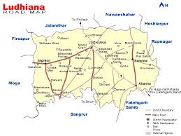 map on road road map road map of ludhiana road map of ludhiana city road
