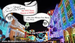 best things to see and do at disney world during the christmas